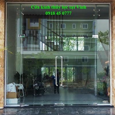 cửa kính ở Vinh